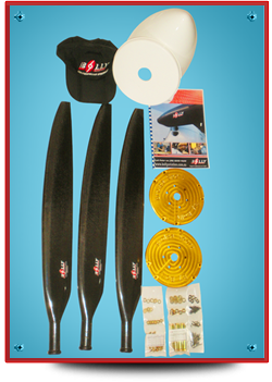 Bolly Solid Carbon Fiber Composite Propellers